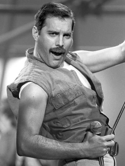 Freddie Mercury, Queen Princes of the Universe Video Shoot, London, 1986