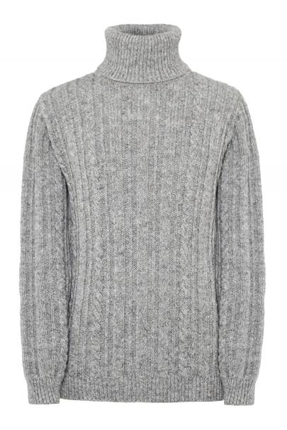 Cable knit jumper by Edmund Hillary