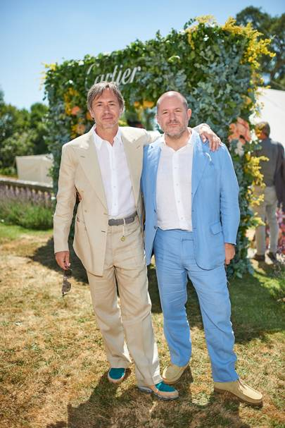 Marc Newson and Sir Jonathan Ive