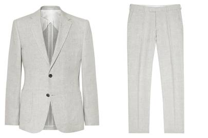 Jacket and trousers by Reiss