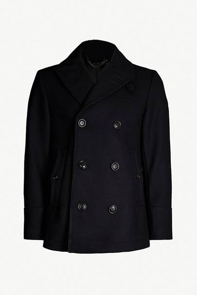 Wool-blend peacoat by Tiger Of Sweden