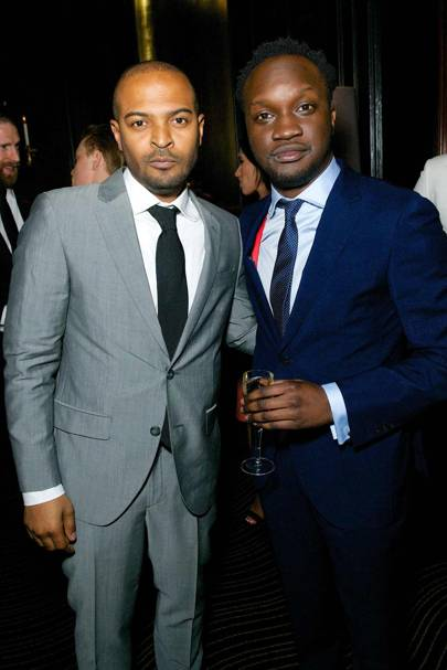 Noel Clarke and Arnold Oceng