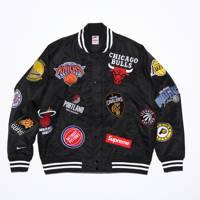 Varsity jacket by Supreme/Nike/NBA