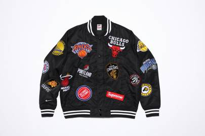 Varsity jacket by Supreme/Nike/NBA