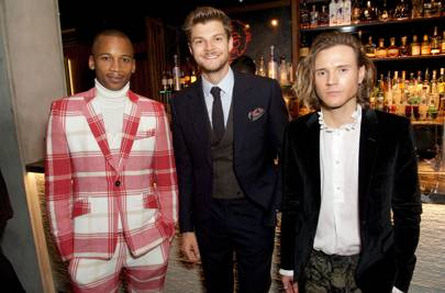 Eric Underwood, Jim Chapman and Dougie Poynter