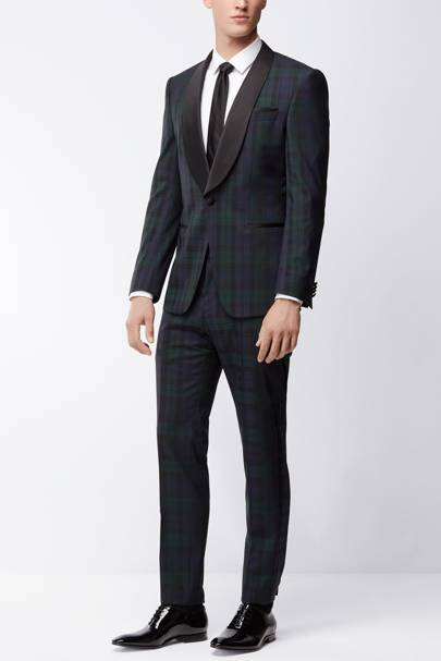 Check tuxedo by Hugo Boss