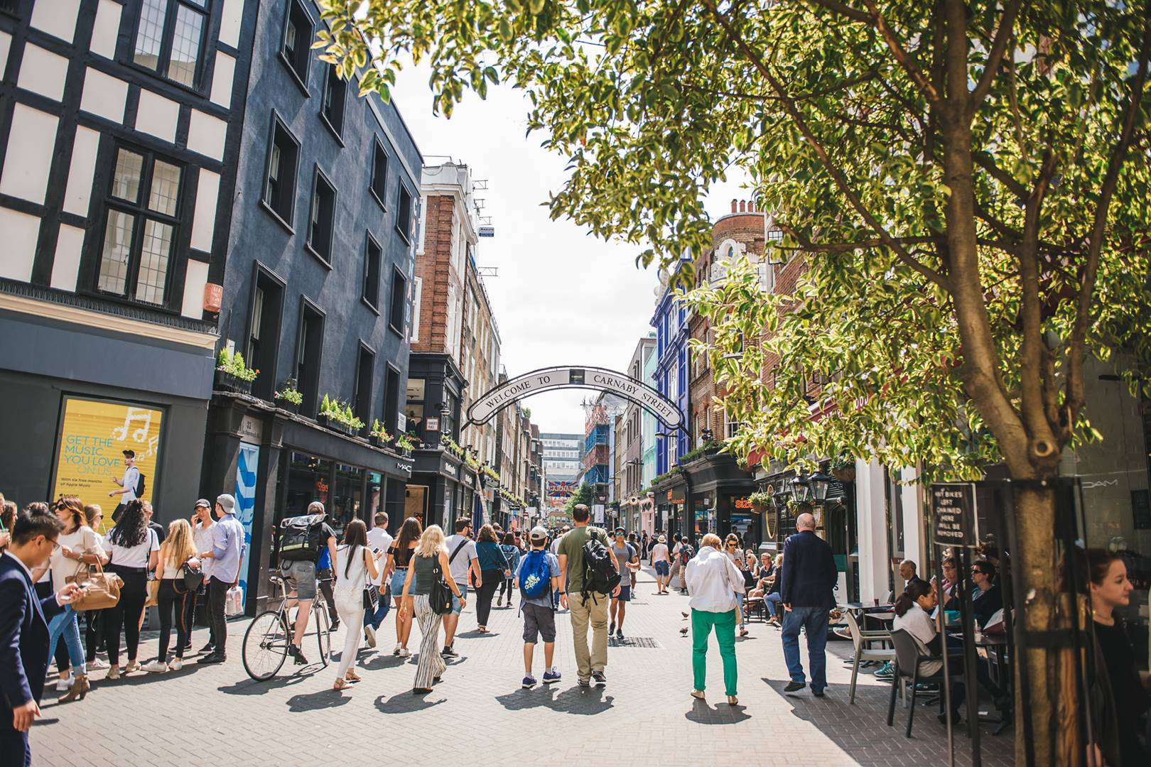 Join Carnaby Street's catwalk party