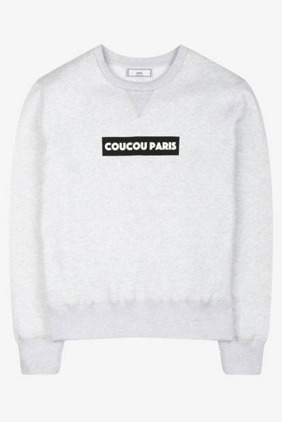 Ami 'Coucou Paris' sweatshirt