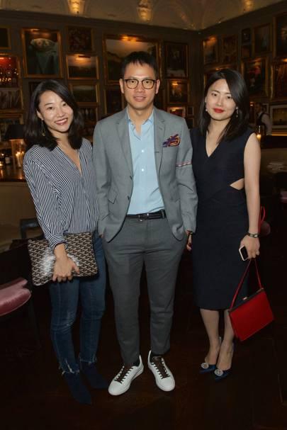 Suki Huang, Paco Tang and Becky Chen