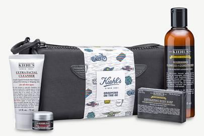 Kiehl's grooming bag