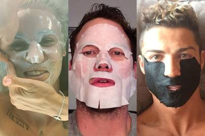 Sheet face masks: the celebrity grooming trend you need to know about