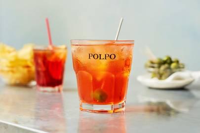 10) Campari Aperitivo Time at Polpo