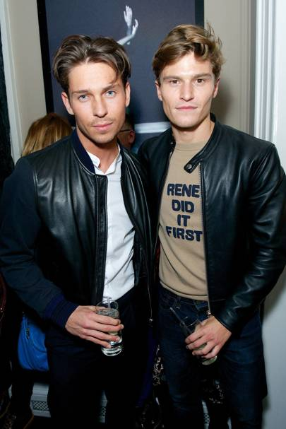 Joey Essex and Oliver Cheshire