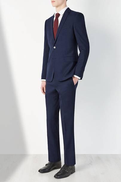 Kin by John Lewis navy suit