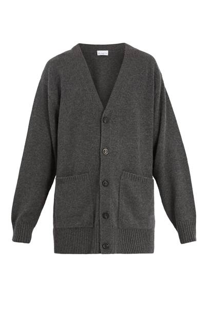 Long-line cashmere cardigan by Raey