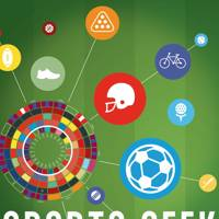 Sports Geek: A Visual Tour of Sporting Myths, Debate & Data by Rob Minto