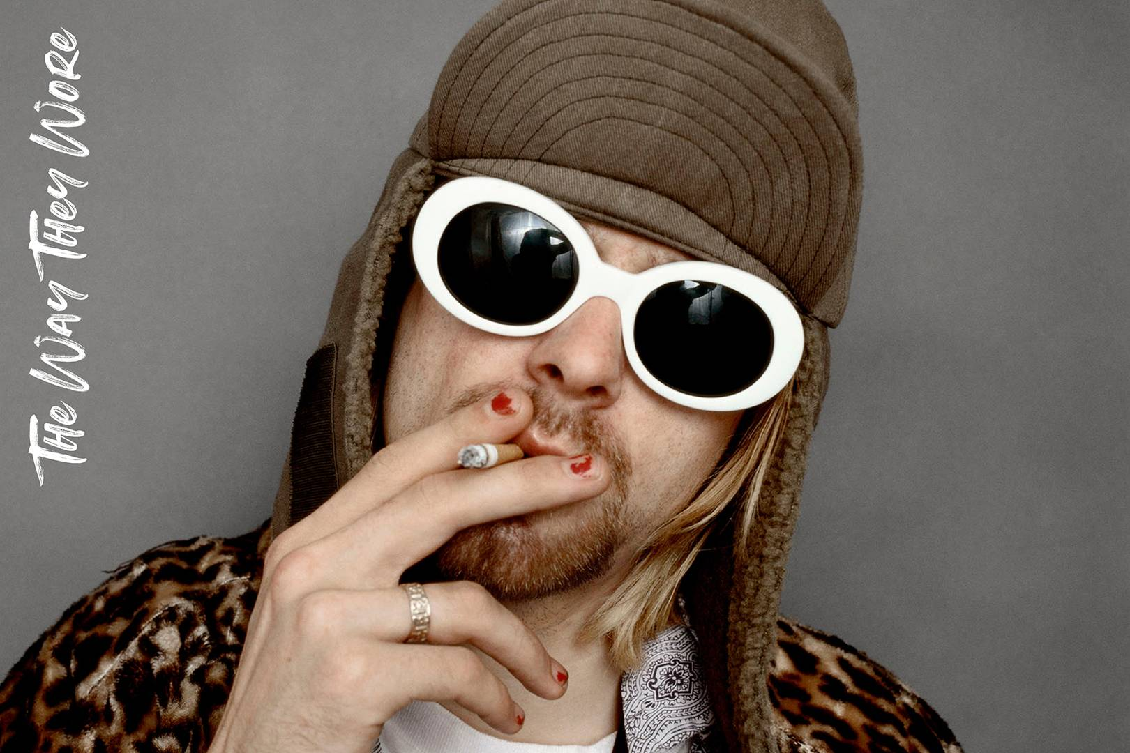 20f8949b25 Kurt Cobain s sunglasses taught a whole generations of kids how to be cool
