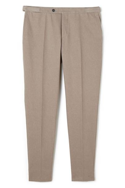 Thom Sweeney tailored denim trousers