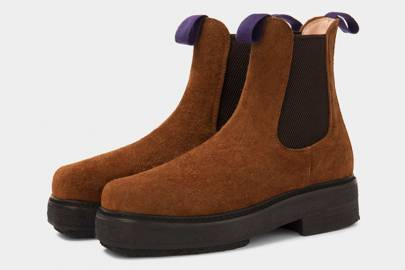 Suede boots by Eytys
