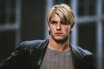 1998: David Beckham