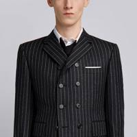 3. The Wall Street-ready pin stripe