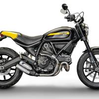45. Ducati Scrambler (Retro wheels)