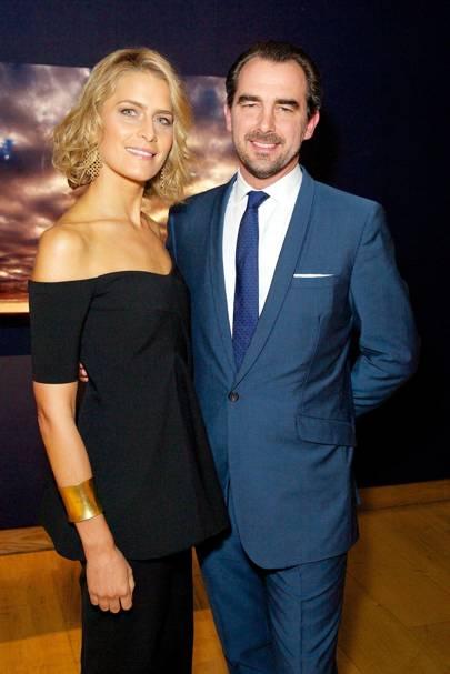 Princess Tatiana Blatnik, HRH Prince Nikolaos