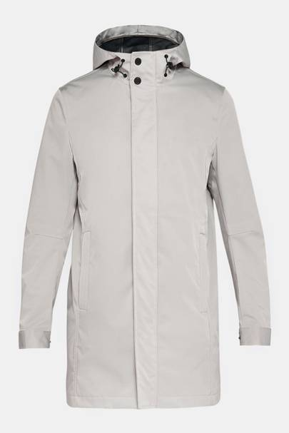Verner hooded mac by Ted Baker