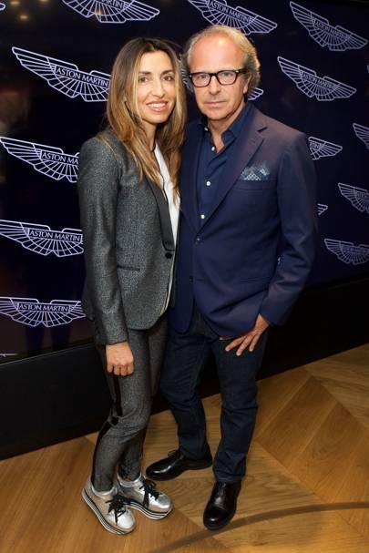 Paola and Andrea Della Valle