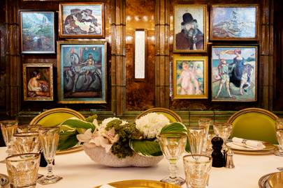 Inside the world's most expensive dining room