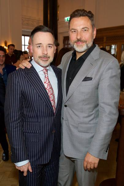 David Furnish and David Walliams