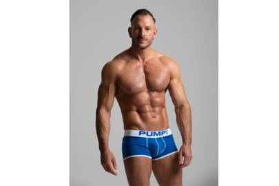 PUMP! Neon Fuel Boxer in Royal Blue by Best Gay Life