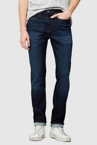 Indigo slim-fit jeans