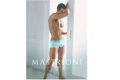 Silver Triple Panther Trunks by Mastrioni