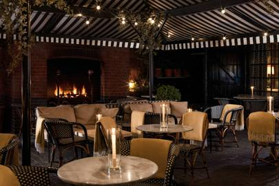 Ongoing: Chiltern Firehouse winter courtyard