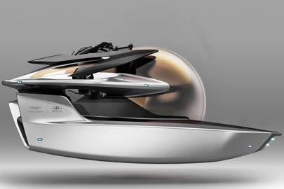Aston Martin x Triton submarine