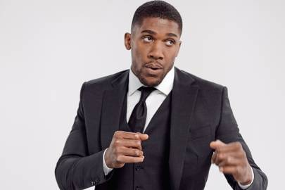 a868f2a55 Exclusive: Anthony Joshua is the new face of Hugo Boss's Stretch Tailoring  line
