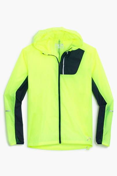 New Balance for J Crew lightweight packable jacket