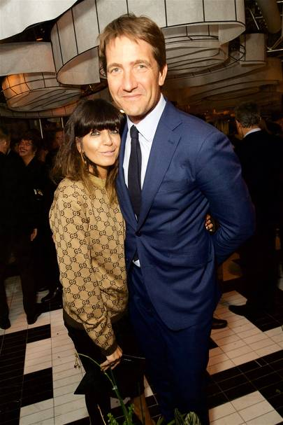 Claudia Winkleman and Kris Thykier