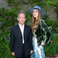 Tom Hollander and Lily Robinson