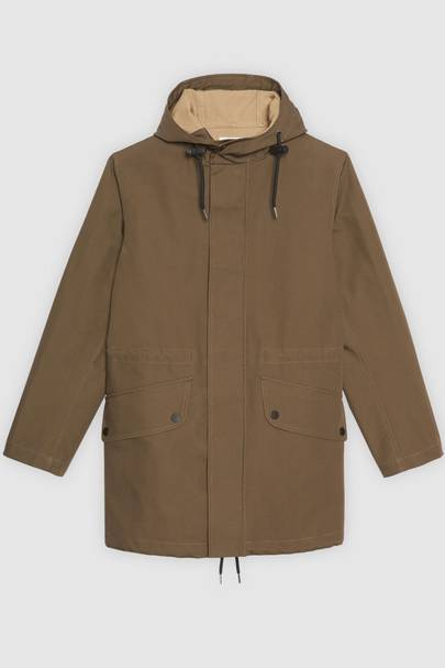 Technical fabric parka by Sandro