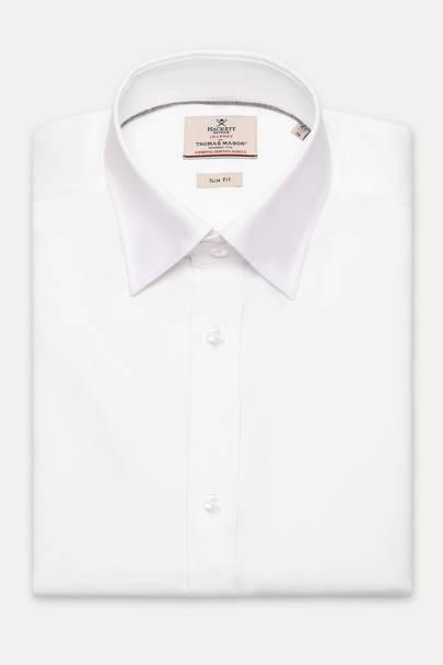 6. A white collared shirt