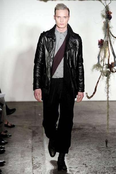 Robert Geller Autumn/Winter 2009 Menswear show report ...