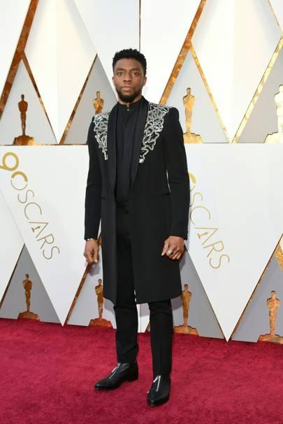 Chadwick Boseman, 2018