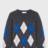 Pringle Of Scotland Argyle Round Neck Jumper
