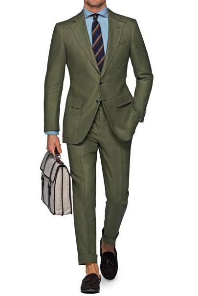 The best green suits for men this spring | British GQ