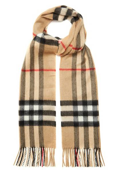 Burberry cashmere scarf