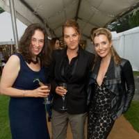 Corisande Albert, Tracey Emin and Lisa Dwan