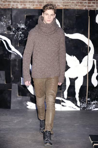 Yigal Azrouel Autumn/Winter 2009 Menswear show report ...
