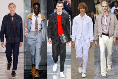 Men's Style Features. The Hot List A visual snapshot of this season's must-own trends, colours, fabrics & key pieces. Street Style Our photographers capture the best-dressed real men across the globe.